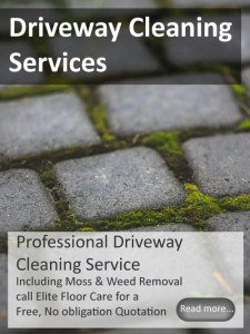 Driveway Cleaning from Elitefloorcarespecialists.com