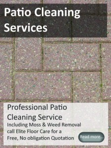 Patio Cleaning from Elitefloorcarespecialists.com