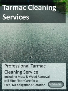 Tarmac Cleaning from Elitefloorcarespecialists.com