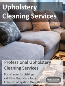 Upholstery Cleaning from Elitefloorcarespecialists.com