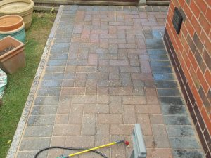 Patio cleaning driveway leicester